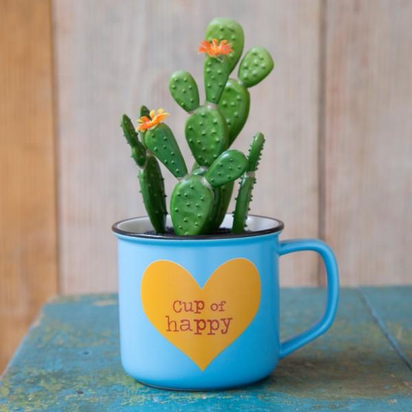 Tasse Kaktus 2in1 Set Cup Of Happy