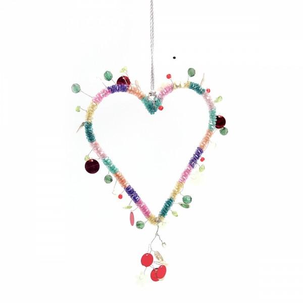 FUNKEL Dekoration Beads Fancy Heart
