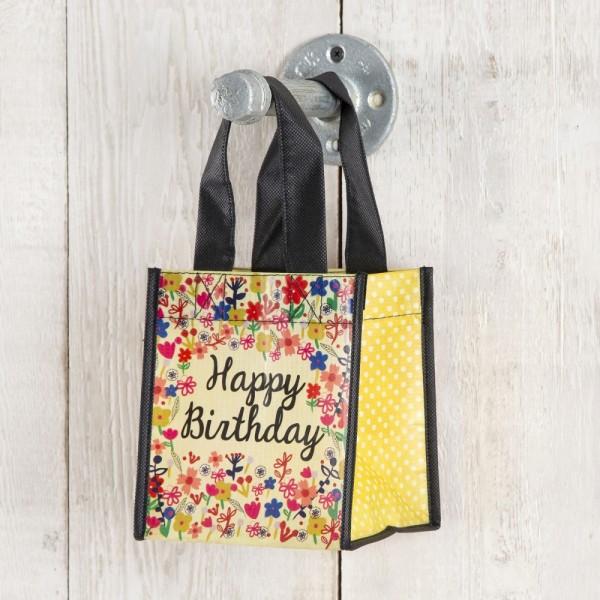 Tasche Recycle Happy Birthday