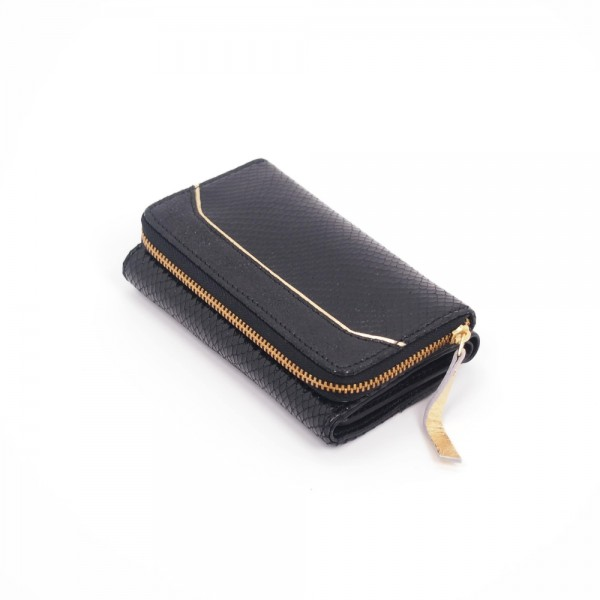 Portemonnaie Sleek Leder DW