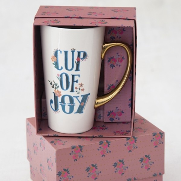 Tasse Latte in Geschenkbox Cup of Joy