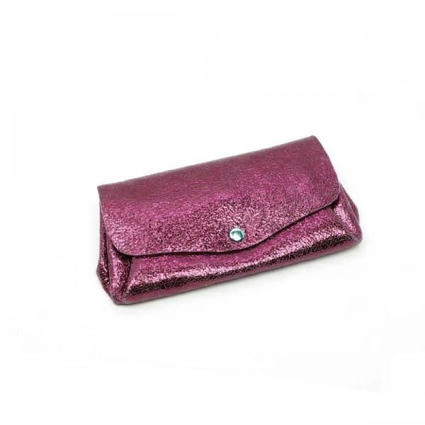 Portemonnaie Bubble metallic 2flap lg