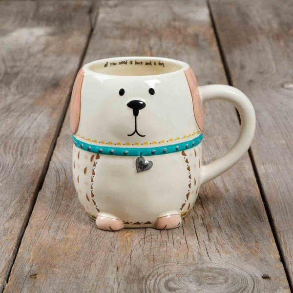Folk Art Dog Tasse