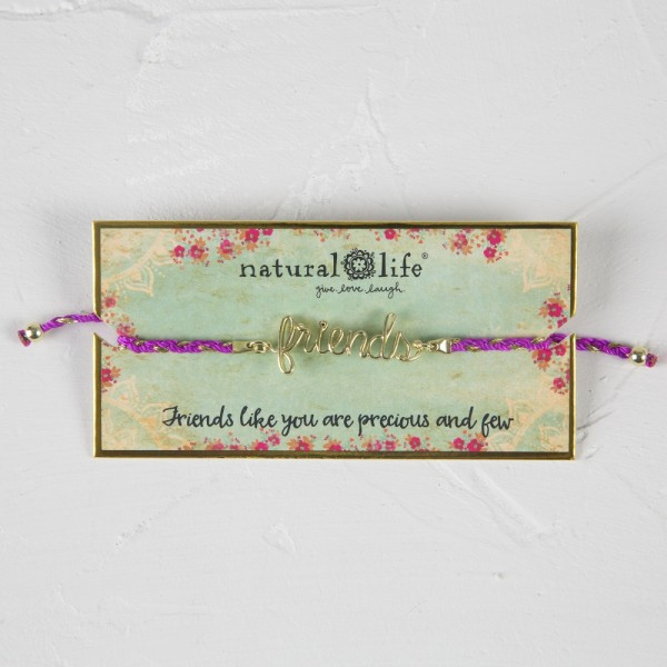 Armband Wire Word Friends