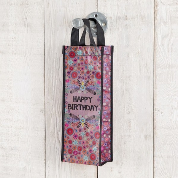 Recycle Tasche Flasche Happy Birthday