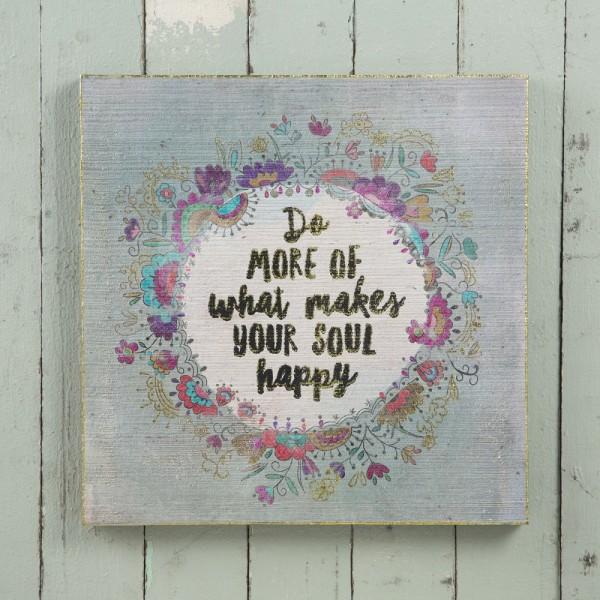 Wandbild Soul Happy