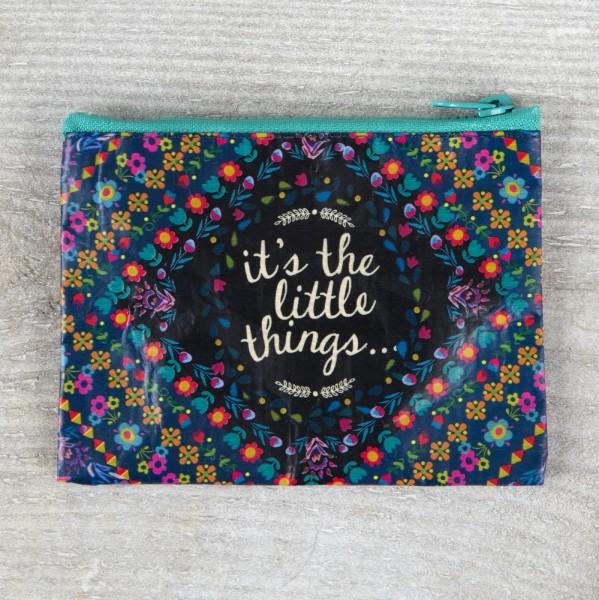 Täschchen Recycled Zip Little Things
