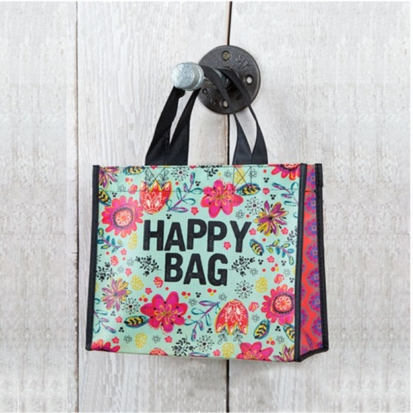 Recycled Tasche Happy Med.
