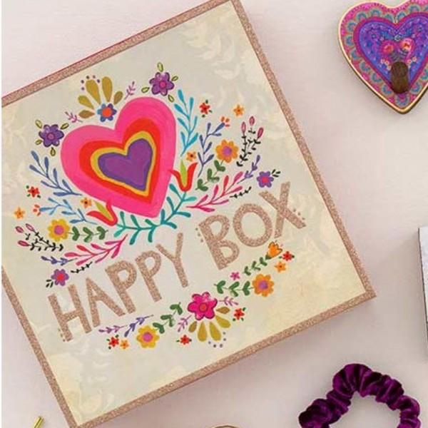 Geschenkbox L Happy Box