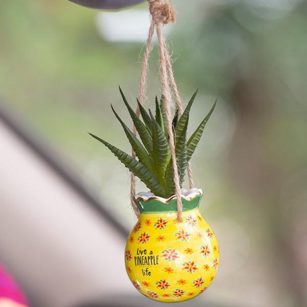 Mini Makrame Kaktus Set Pineapple