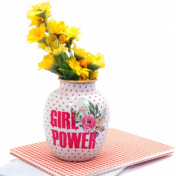 Vase Girl Power