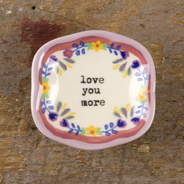 Keramikschälchen  Mini Love you