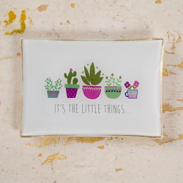 Glasschale It's little things