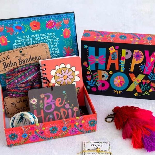 Geschenkbox Black Happy Box