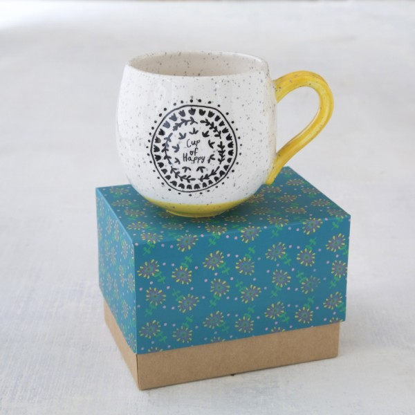 Tasse in Geschenkbox Cup of Happy