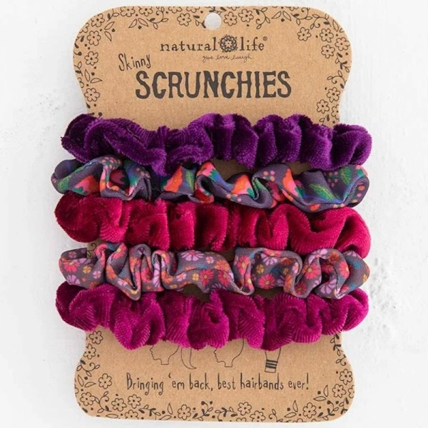 Scrunchies Set5 Berry