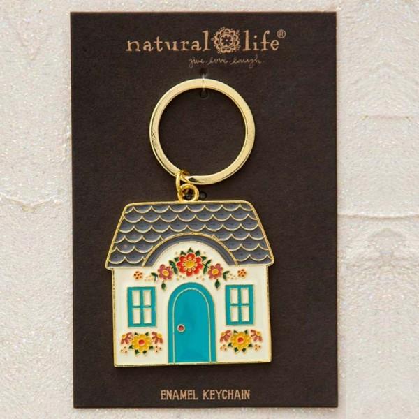 Schlüsselanhänger Enamel Cottage