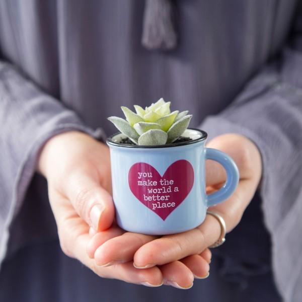 Tasse Kaktus 2in1 Mini Set World Better