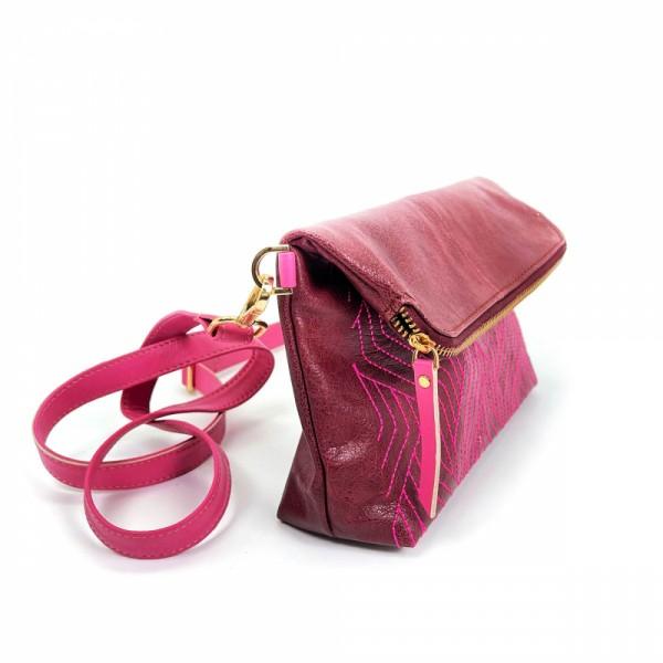 Tasche LET IT GO plum