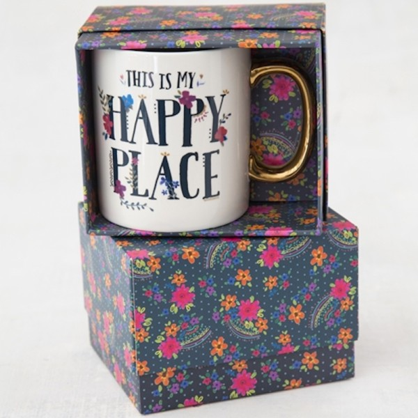 Tasse in Geschenkbox Happy Place