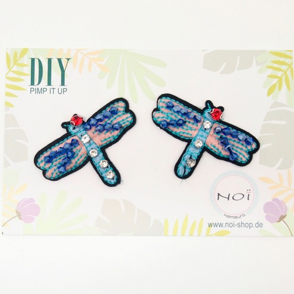 Patches DIY Schmetterling Set 2