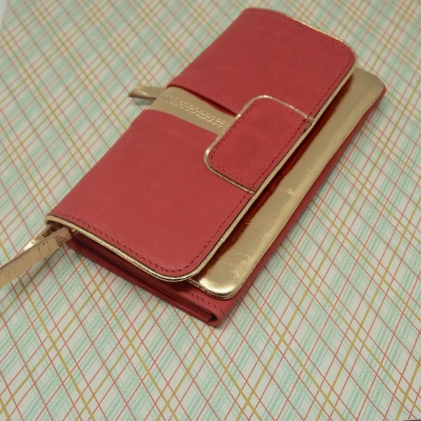 Portemonnaie DD Bling ziegel L