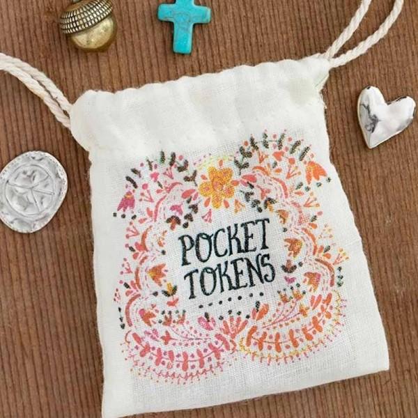 Glücksbringer im Geschenkbeutel Hearts