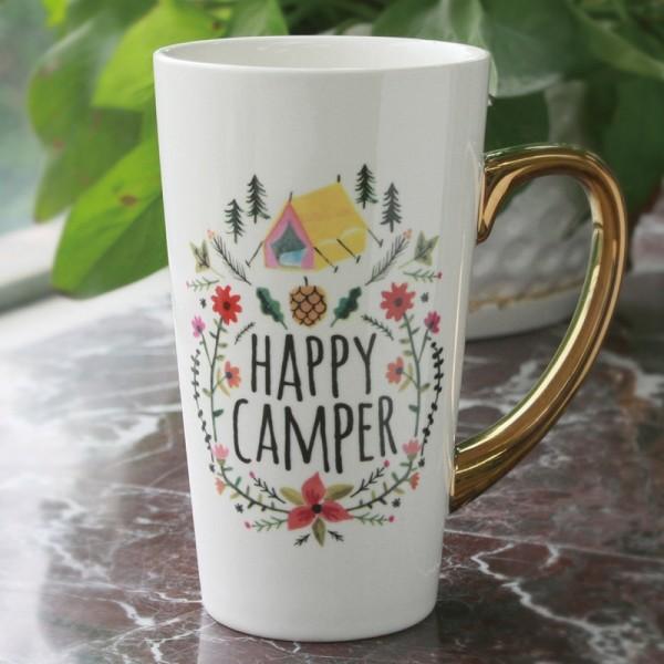 Tasse Latte Happy Camper