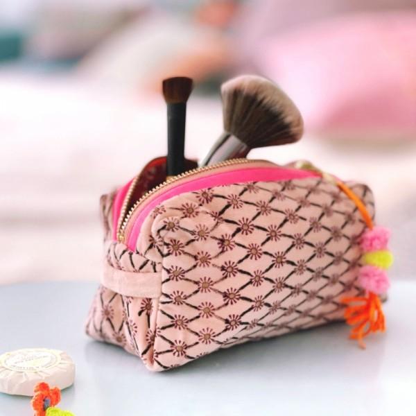 Kosmetiktasche Flower blush S