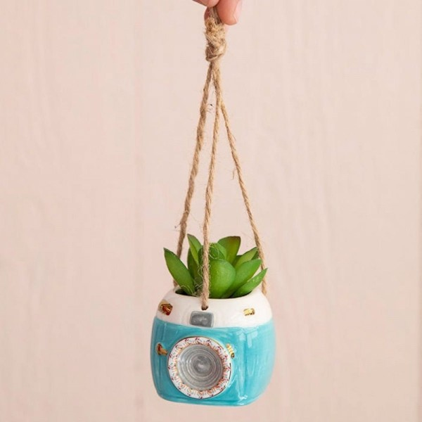 Hängende Mini Sukkulente Aqua Camera