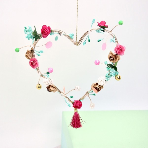 Dekoration Flowerheart Vintage